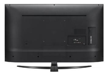 """55"""" TV LG 55UN74006LA, Black (SMART TV)"""