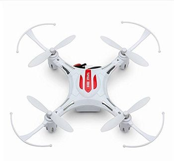 Drone JJRC H8 mini 2.4G 4 CH Brushed RC, Remote Control: 2.4GHz Wireless Remote Control, Battery:3.7V 150mAh (built-in), Flying Time: 5-7mins, Charging Time.: 45mins