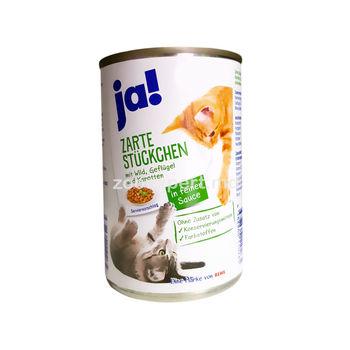 Ja! hrană cu carne de pasăre şi morcov 415 gr