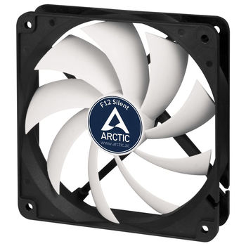 Case/CPU FAN Arctic F12 Silent, Black, 120x120x25 mm, 3-pin, 800rpm, Noise 0.08 Sone (@ 800 RPM), 37 CFM / 62.9 m3/h (ACFAN00202A)