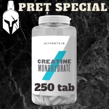 Креатин моногидрат - Натуральный вкус - 250 ТАБ