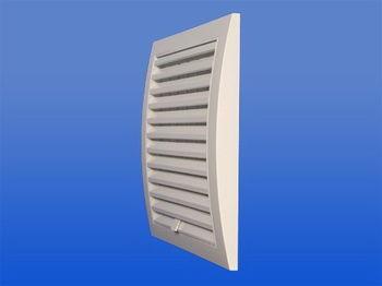 купить Решетка вентиляц.пласт. квадратная 190 x 190 / Ø150mm - регулируемая ND15R Europlast в Кишинёве