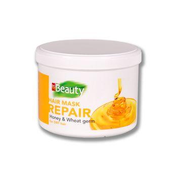 Mască pentru păr uscat, SOLVEX MMBeauty, 500 ml., REPAIR - restabilire, cu extract de miere și ulei din germeni de grâu