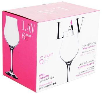 Бокал LAV HT-37042/JUL 526 (для вина 6 шт/270 мл)