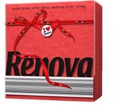 купить Renova Red Label Красные сервировочные салфетки (70) 8020671 в Кишинёве