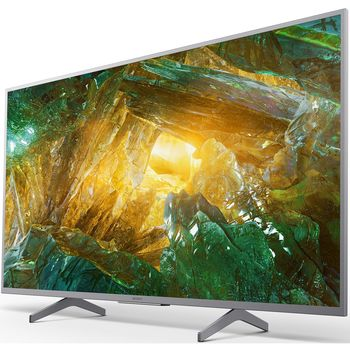 """55"""" LED TV SONY KD55XH8077SAEP, Silver"""