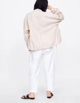 Куртка ZARA Бежевый 6318/031/712