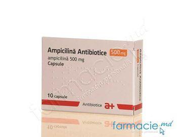 купить Ampicilina 500mg caps. N10 (Antibiotice) в Кишинёве