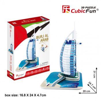 купить CubicFun пазл  3 D Burjal-Arab в Кишинёве