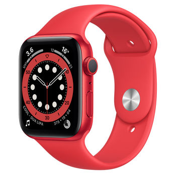 Apple Watch 6 44mm (M00M3), Red / Red