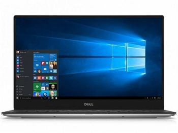 "DELL XPS 13 Aluminium/Carbon Ultrabook (9360) Silver, 13.3"" FullHD (Intel® Core™ i5-8250U up to 3.40GHz , 8GB DDR3 RAM, 256GB SSD, Intel® UHD 620 Graphics, CardReader, WiFi-AC/BT, TB3, 4cell, HD720p Webcam, Backlit KB, RU, W10Pro, 1.2kg)"