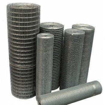 купить Сетка сварная оцинкованная 12 x 12, d-1.4mm, H-1.0m, L-30m в Кишинёве