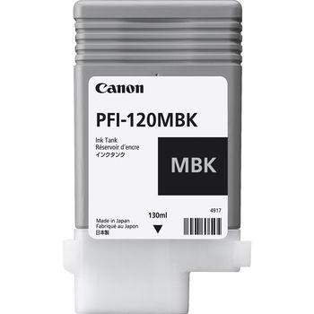 Canon Ink Tank PFI-120 Black EMEA , 200ml for Canon imagePROGRAF TM-200, TM-205, TM-300, TM-305