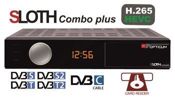 cumpără HD Sloth Combo Plus PVR (H.265/HEVC) DVB-S/S2/T/T2/C/IPTV în Chișinău
