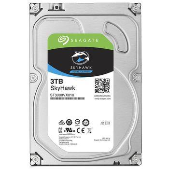 "3.5"" HDD 3.0TB  Seagate ST3000VX010  SkyHawk™ Surveillance, 5900rpm, 64MB, SATAIII"