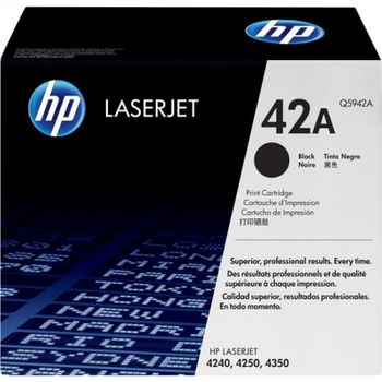HP Q5942A LaserJet 4250/4350 Smart PrintCartridge, black (up to 10,000 pages)
