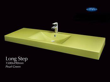 """Раковина LONG STEP 1500 - марки P.A.A. """"фабрика ванн"""""""