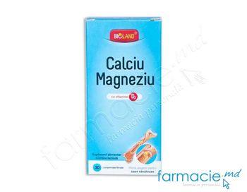 купить Calciu+Magneziu+Vit D3 Bioland comp. N30 в Кишинёве