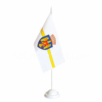 cumpără Steguleț de masă 22x11 cm pe catarg din plastic - Moldova sau alte țări în Chișinău