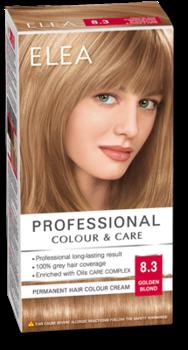 Краска для волос,SOLVEX Elea, 138 мл., 8.3 - Русый золотистый