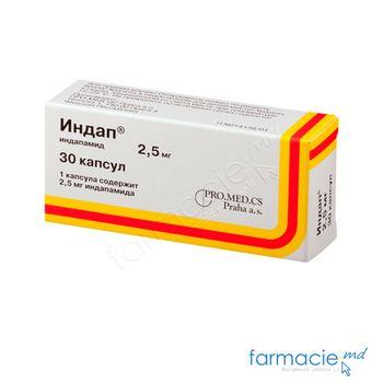 купить Indap® comp. 2,5 mg N10x3 в Кишинёве