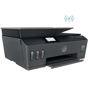МФУ струйное MFD CISS HP Smart Tank 530 Wireless, Black/Gray, A4, ADF 35p, up to 11ppm/5ppm black/color, up to 4800x1200 dpi, Up to 800 p/m, 800Mhz, 256 Mb, 7 segment LCD, Hi-Speed USB 2.0, Wi-Fi, Bluetooth LE, (3*GT53XL Black 135ml, 1*GT52 C/M/Y)