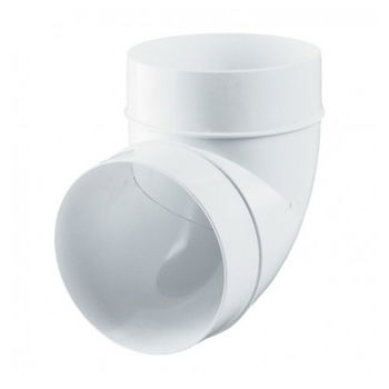 купить Отвод вентиляц. пласт. Ø100 х 90°  AL100-90 Europlast в Кишинёве