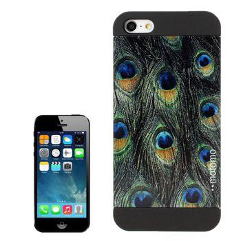 "Чехол для iPhone 5 / 5S MOTOMO ""Павлин"""