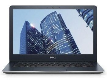 DELL Vostro 13 5000 Grey (5370), 13.3'' FuIID +W10Pro(InteI® Core™ i7-8550U 1.80-4.0GHz, 8GB DDR4 RAM, 512GB SSD, AMD Radeon 530 4GB DDR5 Graphics, CR, HDMI, USB-C, WiFi-AC/BT4.2, 3cell, 720p Webcam, Backlit KB, RUS, Win10 Pro, McAfee 15 M, 1.41kg)