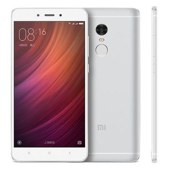 "Xiaomi RedMi Note 4 16GB Silver,  DualSIM, 5.5"" 1080x1920 IPS, Mediatek MT6797, Deca-Core up to 2.1GHz, 2GB RAM, Mali-T880 MP4, microSD (SIM 2 slot), 13MP/5MP, LED flash, 4100mAh, WiFi-AC/BT4.1, LTE, Android 5.1 (MIUI8), Infrared port, Fingerprint"