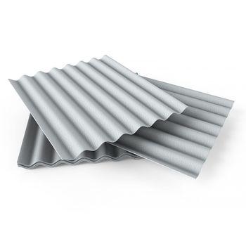 купить Шифер серый 1,75м X 1,13м (8-волновой) Украина в Кишинёве