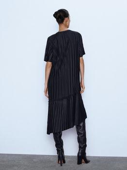 Платье ZARA Чёрный 6050/632/800