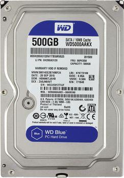 """HDD 3.5"""" Western Digital 500Gb WD5000AAKX Caviar® Blue, 7200rpm 16Mb, SATA3"""