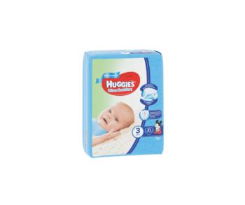 cumpără Scutece Huggies Ultra Comfort Small pentru băieţi 3 (5-9 kg), 21 buc. în Chișinău