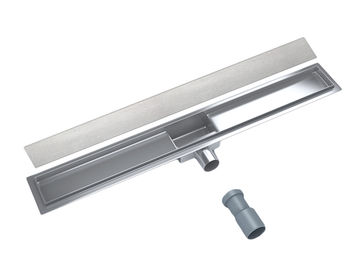 cumpără Rigola de dus linear set SMOOTH (Otel Inox, neted) FLH40-A2 С15 500 х70 în Chișinău