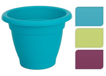 Горшок для цветов пластиковый D25cm, H19cm