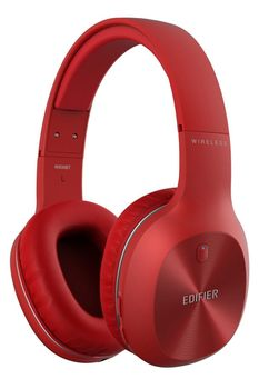 Edifier W800BT Red / Bluetooth and Wired On-ear headphones with microphone, BT Type 4.0, 3.5 mm jack, Dynamic driver 40 mm, Frequency response 20 Hz-20 kHz, On-ear controls, Ergonomic Fit, Battery Lifetime (up to) 35 hr, charging time 3 hr