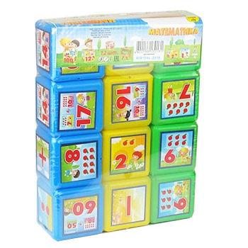 "Кубики ""Математика"" (12 шт.) (3714)"