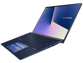 "Laptop 13.3"" ASUS ZenBook 13 UX334FLC Royale Blue, Intel i5-10210U 1.6-4.2Ghz/8GB/SSD 512GB M.2 NVMe/GeForce MX250 2GB/WiFi 6 802.11ax/BT5.0/HDMI/HD WebCam/Illum. Keyb./ScreenPad 5.65""/13.3"" IPS LED Backlit FullHD NanoEdge (1920x1080)/Windows 10 UX334FLC-A3108T"