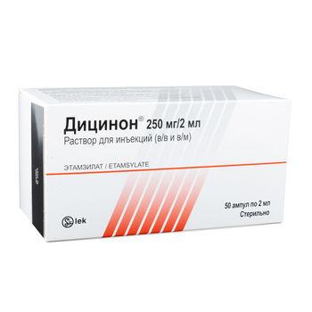 cumpără Dicynone 250mg/2ml sol.inj. N50 în Chișinău