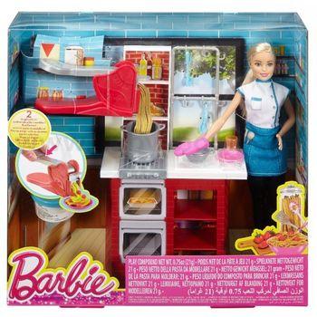 """Набор с куклой Барби """"Приготовление спагетти"""", код DMC36"""