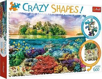 "Пазлы ""600 Crazy Shapes"" - ""Tropical island"", код 42160"