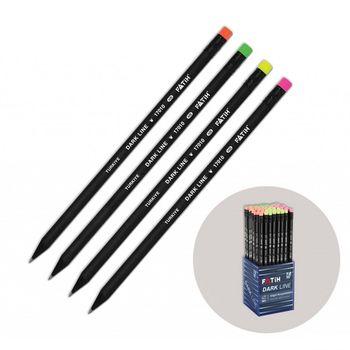 Creion cu radiera Fatih Dark Line HB