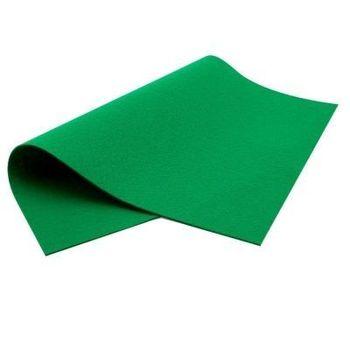Фетр мягкий  Зелёный. Размер: А3
