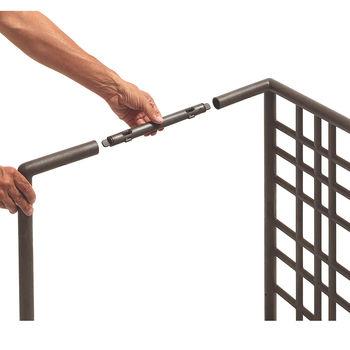 Набор зажимов для модульной системы ограждений Nardi SIPARIO KIT CLIPS TERRA 40392.44.000 (Модульные ограждения для сада / террасы / бара)