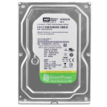 "500GB-SATA-64MB Western Digital ""AV-GP"