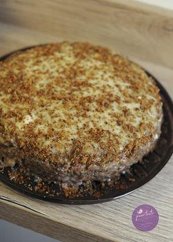 Нукушор. Веганский торт без глютена (Без белой муки, глютена и сахара)
