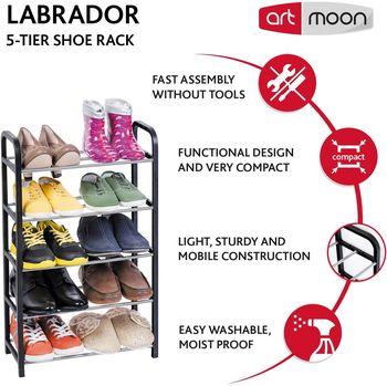 купить art moon LABRADOR 5-ти ярусная этажерка для обуви 699287 в Кишинёве
