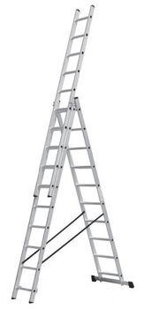 купить Трехсекционная лестница (3x12ст) AC0312A в Кишинёве