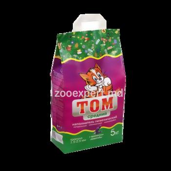 купить Гигиенический наполнитель Том (средние гранулы) 5 kg в Кишинёве